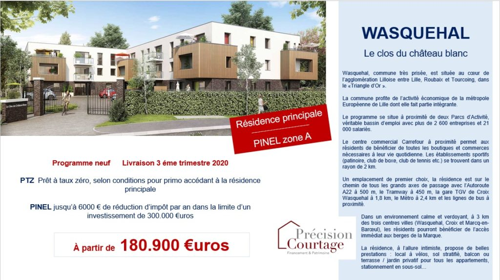 WASQUEHAL annonce