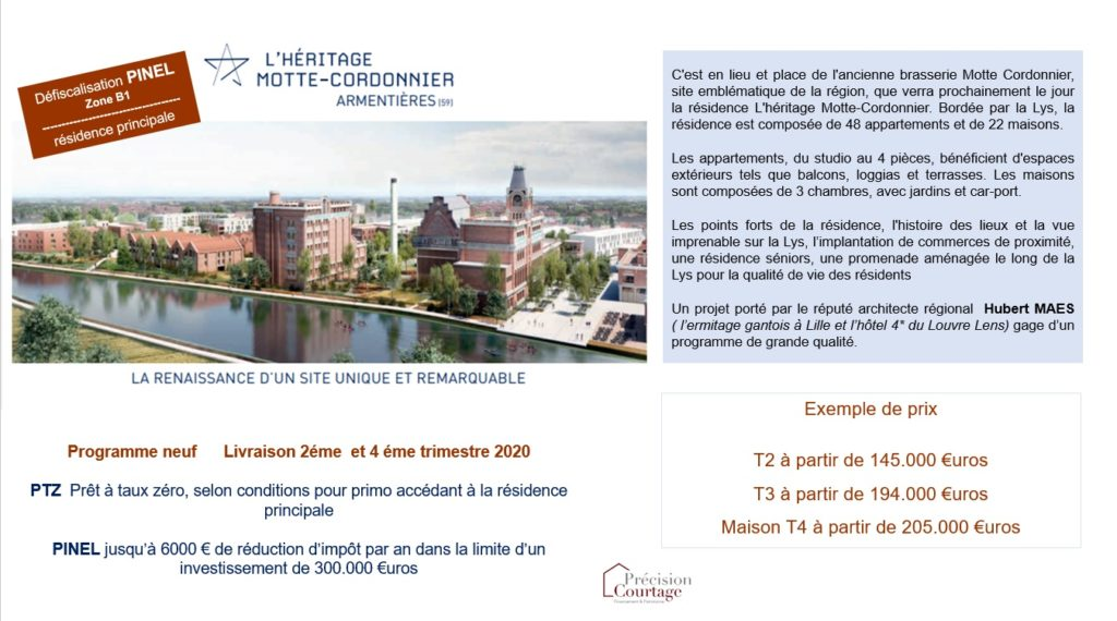 ARMENTIERES annonce