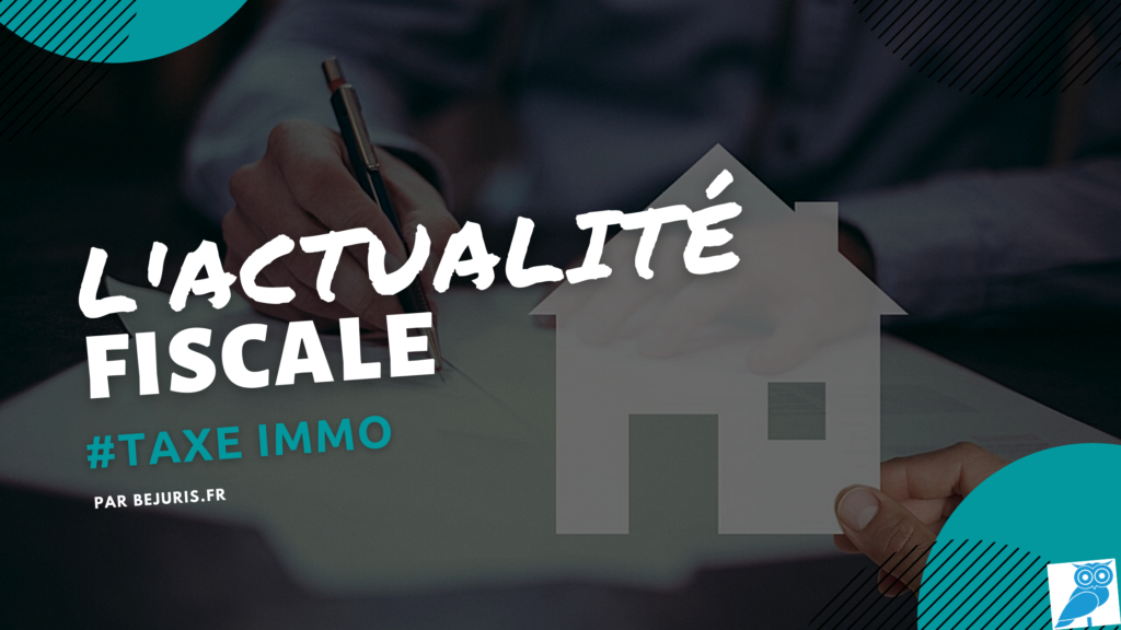 taxe immobiliere